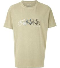 t-shirt osklen stone biking masculina - masculino
