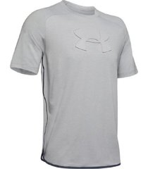 remera gris under armour unstoppable move