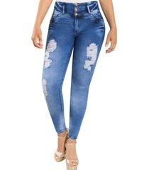 jeans colombiano control abd. celeste new rodivan