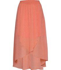 caitlin knälång kjol rosa mbym
