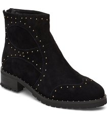 boot shoes boots ankle boots ankle boots flat heel svart sofie schnoor
