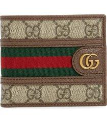 men's gucci gg supreme canvas wallet -