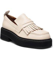 shoes a1247 loafers låga skor creme billi bi