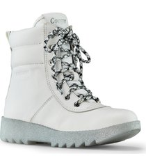 women's cougar pax waterproof bootie, size 10 m - white