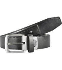 dickies industrial strength metal logo tab men's belt