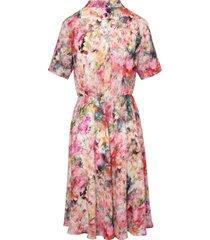 jurk korte mouwen van mayfair by peter hahn multicolour