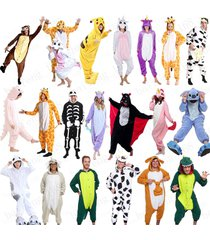 animal cosplay kigurumi pajamas pyjamas costume hoodies adult onesie fancy dress