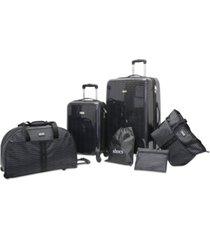 steve madden signature 6-pc. luggage set