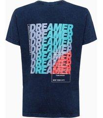 camiseta mc silk flam marm gc costas g - azul médio - 2