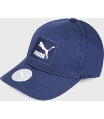 gorra azul-blanco puma classics archive
