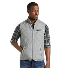 1905 collection tailored fit quilted vest - big & tall