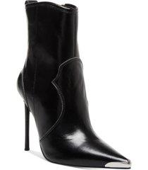 winnie harlow x steve madden tina western stiletto booties