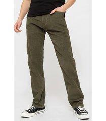 pantalón levis 505 regular verde - calce regular