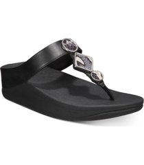 fitflop leia toe-thong sandals women's shoes
