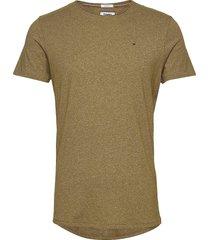 tjm essential jaspe tee t-shirts short-sleeved grön tommy jeans