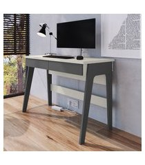 mesa escrivaninha escritório 1000 primazzia móveis canção 2 gavetas