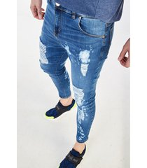 jean azul tascani skinny titan