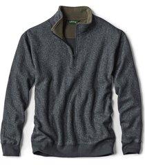 ultra-ragg zipneck sweatshirt / ultra-ragg zip neck sweatshirts, charcoal, 2xl
