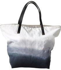 michael aram dip dye ombre 100% cotton beach tote bedding