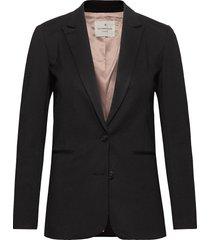 jacket ls blazers business blazers svart rosemunde