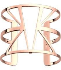 les georgettes by altesse triangular openwork wide adjustable cuff ibiza bracelet, 40mm, 1.6in
