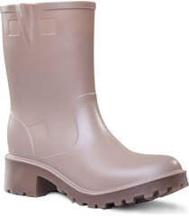 botas impermeables para mujer michelle idecal beige