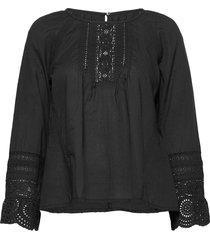 abigail blouse blouse lange mouwen zwart odd molly