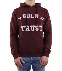 hoodie washed fade rood