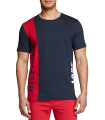th modern essentials men's colorblocked cotton t-shirt