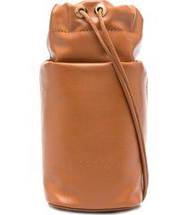 nico giani adenia micro bucket bag - brown