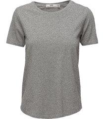 tee t-shirts & tops short-sleeved grijs hope