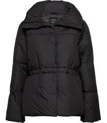 jacket pella padded gevoerd jack zwart lindex