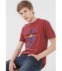 camiseta dudalina avião vinho - kanui