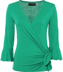 maglia a pois (verde) - bodyflirt