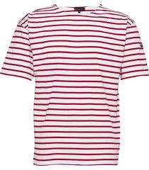breton striped shirt théviec t-shirts short-sleeved vit armor lux