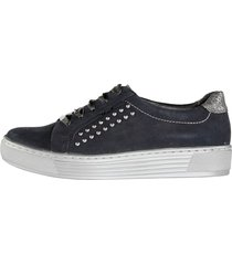 skor solidus mörkblå