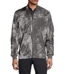 bogner men's jacob-f tie-dyed jacket - charcoal - size 40