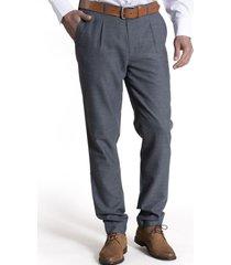 pantalon franel lana grafito rockford