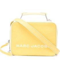 marc jacobs bolsa box mini tricolor - amarelo