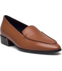 furla grace loafers låga skor brun furla