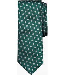 corbata melange dot verde brooks brothers