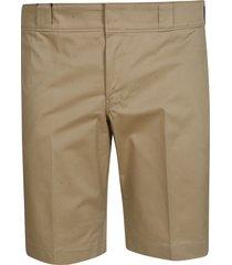 prada gabardine stretch shorts