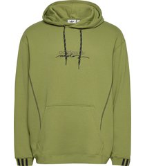 d hoody hoodie trui groen adidas originals