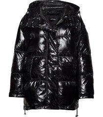 w-alla jacket gevoerd jack zwart diesel women
