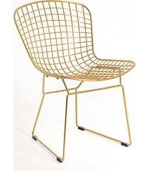krzesło wir - złoty