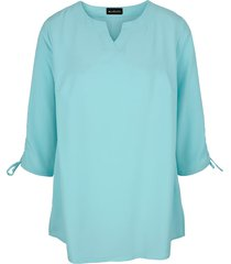 blouse m. collection turquoise