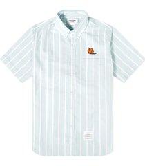 banker stripe oxford shirt