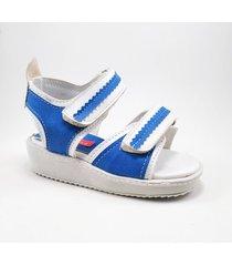 sandalia azul ragazzini