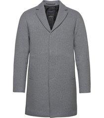 slhhagen wool coat b noos yllerock rock grå selected homme