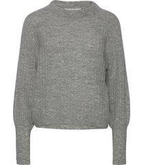 alpiagz pullover noos stickad tröja grå gestuz